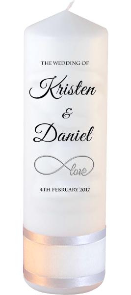 Wedding Candle Formal Font 5 love