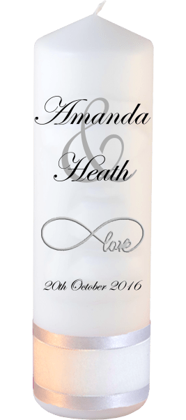 Wedding Candles Modern Font 2 Love