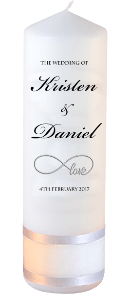 Wedding Candle Formal Font 1 love