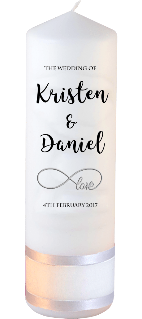 Wedding Candle Formal Font 3 Love