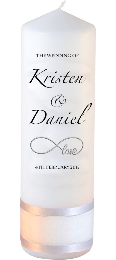 Wedding Candle Formal Font 4 Love