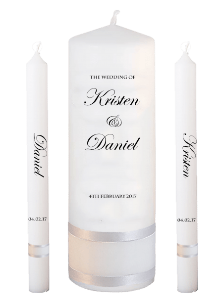 Wedding Candle Set Lighting Formal Font 2 No Motif