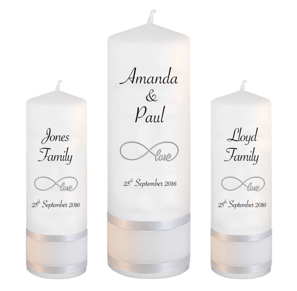 Wedding Candles Unity Set Classic Font 4 love
