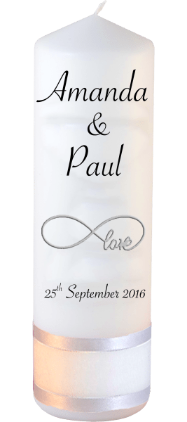 Wedding Candles Classic Font 4 love