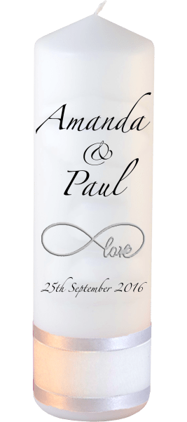 Wedding Candles Classic Font 3 love